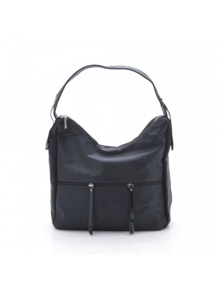 Жіноча модна сумка із ручкою і замками