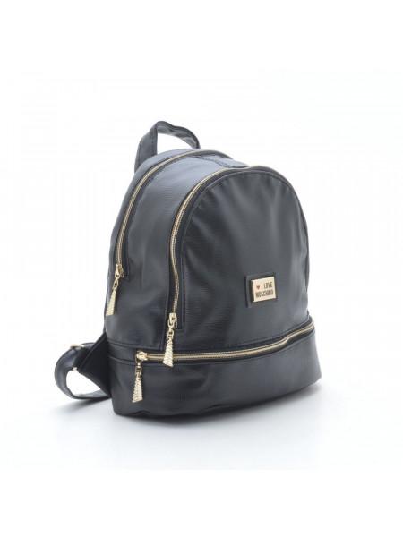 "Женский стильный кожаный рюкзак ""Love Moshino"""