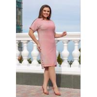 Жіноче блискуче плаття великого розміру