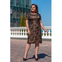 Недорогое женское платье большого размера
