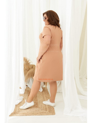 Короткое платье для полных девушек