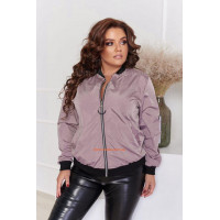 Жіноча молодіжна куртка бомбер великого розміру
