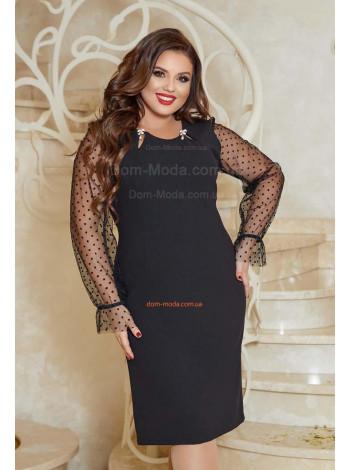 Жіноче нарядне плаття великого розміру
