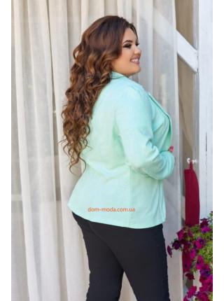 Летний женский пиджак большого размера