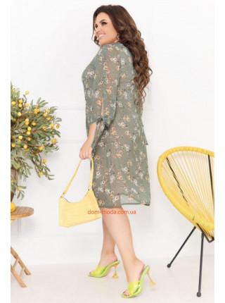 Шифонове плаття 52 розмір -58 розмір
