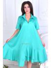 Літнє плаття рубашка для повних