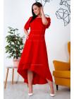 "Жіноче стильне плаття super size ""Каскад"""