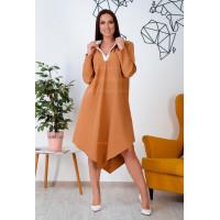 Асиметричне плаття рубашка великого розміру