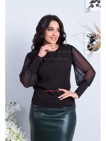 Красивая женская блузка на полную фигуру