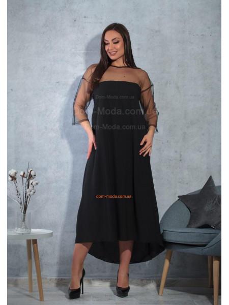 Довге плаття для повних