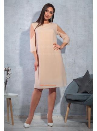 Елегантна сукня для повних
