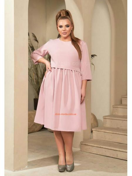 Модное платье большого размера
