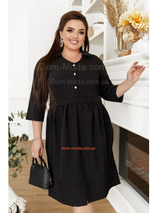 Офісна сукня для повних