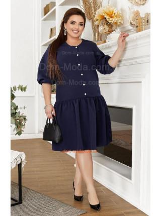 Плаття з заниженою талією для повних