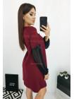 Жіноче коротке плаття вільного фасону