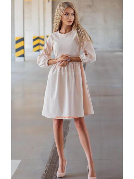 Недороге плаття вельветове з довгим рукавом