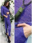 Женский стильный костюм с лосинами