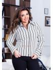 Модная женская рубашка для полных
