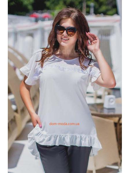 Летняя блузка для полных