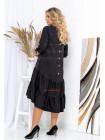 Жіноче асиметричне плаття великого розміру