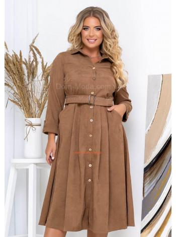 Вельветове плаття рубашка