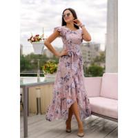 Легка довга сукня на літо