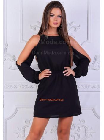 Сексуальное платье с открытой спиной и плечами