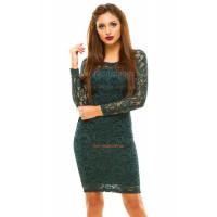 Красиве плаття вечірнє з довгим рукавом