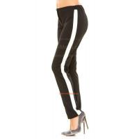 Модные женские штаны с полоской