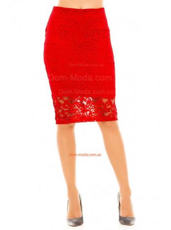 Красивая юбка карандаш из гипюра