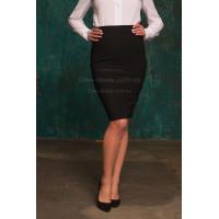 Трикотажная юбка до колена большого размера