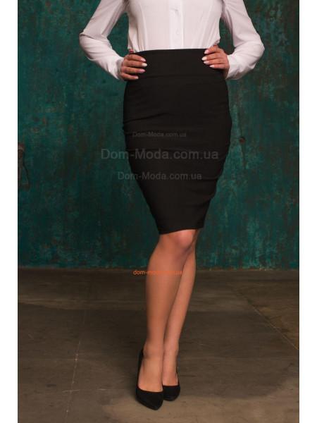 Трикотажна юбка до коліна великого розміру