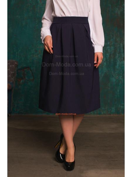 Пишна юбка міді великого розміру