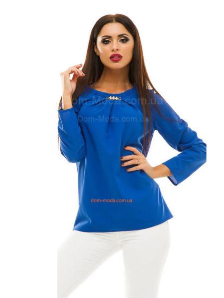 Недорогая женская блуза с длинным рукавом
