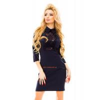 Коротке плаття жіноче в діловому стилі