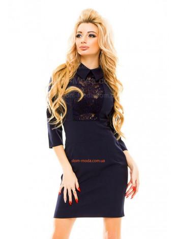 Короткое платье женское в деловом стиле