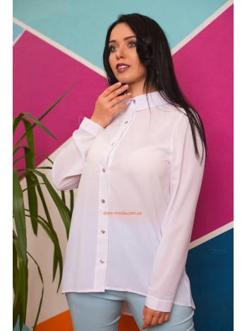 """Женская блузка большого размера """"Шарм"""""""