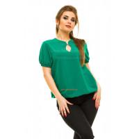 Жіноча літня блузка великого розміру