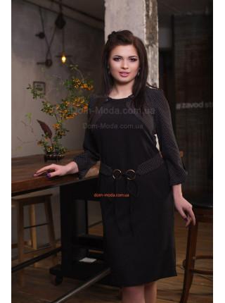 Женское деловое платье для полных