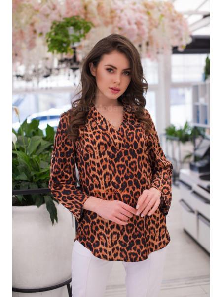 Модна жіноча блузка з принтом