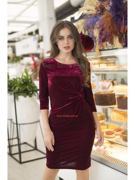 Оксамитова сукня футляр