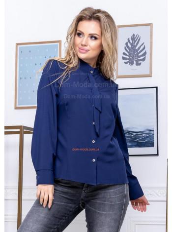 Красивая женская рубашка большого размера