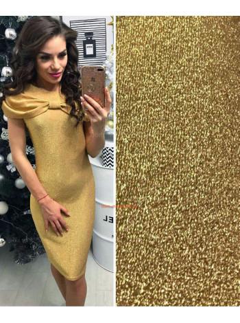 Трикотажна сукня з люрексом