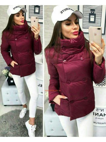 Женская короткая куртка «Moncler»