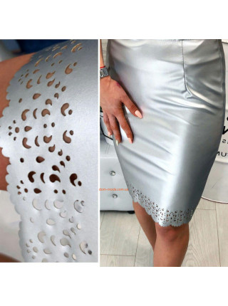 Облегающая юбка из кожи