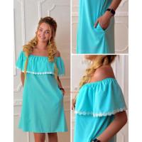 Легке жіноче плаття максі із відкритими плечима купити за 690 грн St ... d6c1ff4e1d0c7