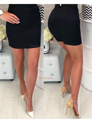 Женская обтягивающая мини юбка
