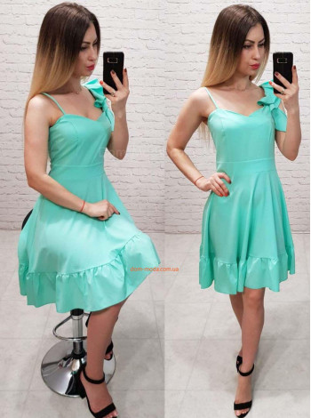 Модный женский сарафан платье