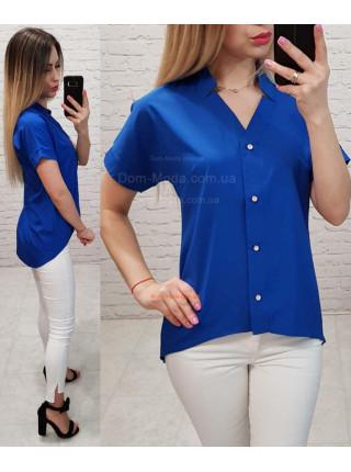 Літня блузка з подовженою спинкою
