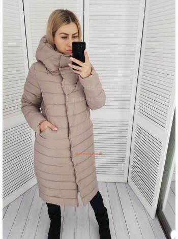 "Зимняя куртка пуховик большого размера ""Эмбер"""